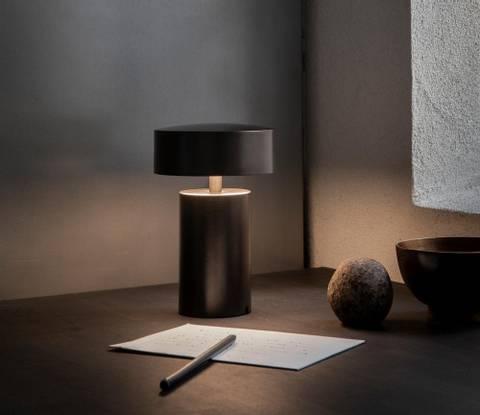Bilde av Column portabel bordlampe,