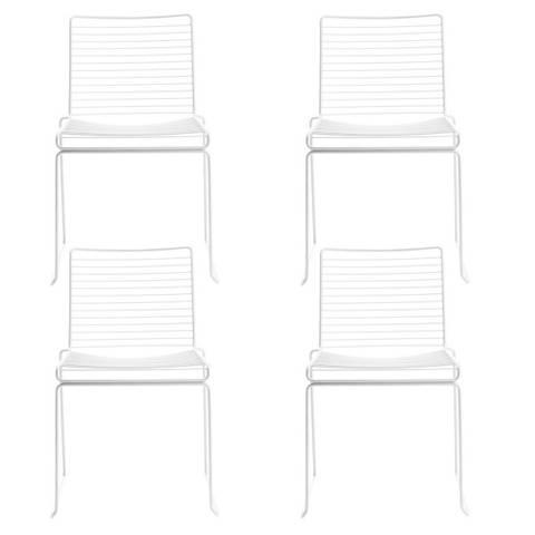 Bilde av  4 x Hee Dining Chair HAY