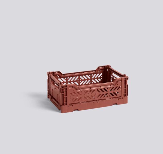 Colour Crate Foldekasse S Terracotta